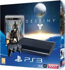 Консоль Sony PS3 500Gb+Destiny Charcoal Black