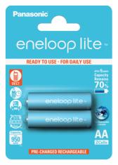 Аккумуляторы Panasonic Eneloop Lite AA 950 2BP mAh NI-MH (BK-3LCCE/2BE)
