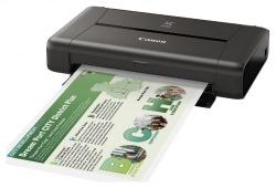 Принтер А4 Canon mobile PIXMA iP110 c Wi-Fi с батареей (9596B029)