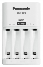 Зарядное устройство Panasonic Eneloop Basic BQ-CC51E
