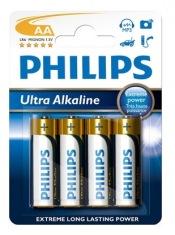 Батарейки PHILIPS Ultra Alkaline LR 6 АА бл.4шт
