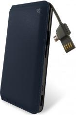 Универсальная мобильная батарея Power Bank 9000mAh blue
