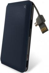 Универсальная мобильная батарея Power Bank 12000mAh blue