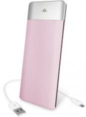 Универсальная мобильная батарея Power Bank 6000mAh pink