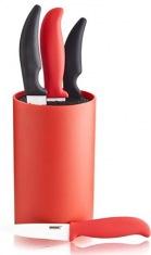 Подставка для ножей BANQUET 18 см оранжевая