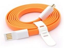 Кабель AUZER AC-M1 micro-USB orange