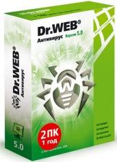 Антивирус Dr.Web Pro 2ПК\1г