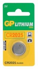 Батарейки GP CR2025-OC1/5