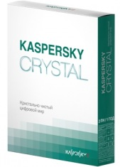 Антивирус Kaspersky CRYSTAL 2ПК/1г