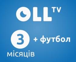 OLLTV смартфон- 3 мес. + 1 мес. футбола