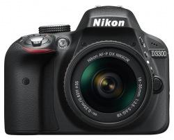Фотокамера NIKON D3300 Kit AF-P 18-55 Kit + сумка + карта SD 16GB