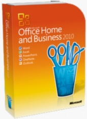 Microsoft Office Home and Business 2010 (3 ПК)