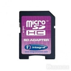 Карта памяти SD Integral 8 Gb HC class 4