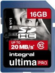 Карта памяти Integral 16 Gb HC class 10