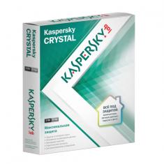 ЭПО Антивирус Antivirus Kaspersky Crystal Desktop 2ПК 1год