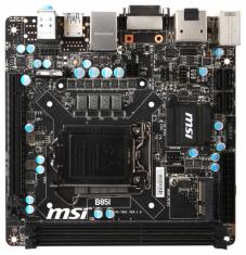 Материнская плата MSI B85I (s1150, Intel B85) MiniITX