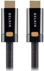 Кабель HDMI Belkin ProHD 4000 1м, Black