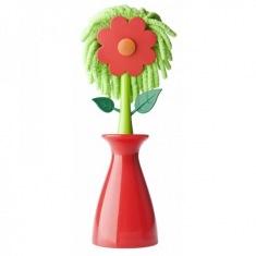 Щетка для удаления пыли 2110 Цветок со съемным ворсом