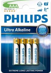 Батарейка PHILIPS Ultra Alkaline LR03-E2B ААА бл.2шт