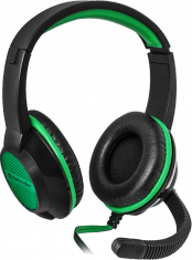 Гарнитура Defender Warhead G-200 зеленый + черный, кабель 2 м