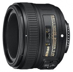 Объектив Nikon 50mm f/1.8G IS