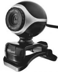 Веб-камера Trust Exis Blck-Slvr