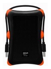 Карман для HDD/SSD Silicon Power Armor A30 USB 3.0 Черный (SP000HSPHDA30S3K)