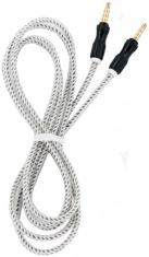 Аудио-кабель DENGOS 3,5мм-3,5мм, 1,5м WHITE