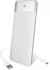 Универсальная мобильная батарея Power Bank 6000mAh white