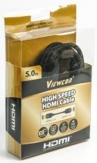 Аудио-кабель Viewcon VC-HDMI-509-5m Black