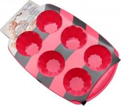 Форма силиконовая для выпечки кексов KRAUFF 26-184-028