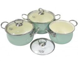 Набор посуды KRAUFF 26-224-025 Lazur