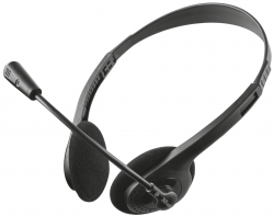 Гарнитура TRUST Ziva chat headset (21517)