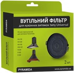 Фильтр угольный  PYRAMIDA R, KH, N, KM 2 шт.
