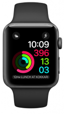 Смарт-часы Apple Watch S1 (MP032) 42mm Grey/Black Sport