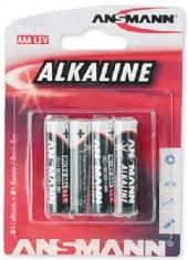 Батарейки ANSMANN Alkaline RED AAA (4 шт.)