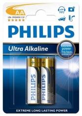 Батарейки Philips Ultra Alkaline LR6-E2B АА 2шт