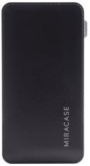Универсальная мобильная батарея MIRACASE 6000mAh (Black)