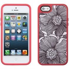 Чехол Speck iPhone 5 FabShell FreshBloom Pink/Blac