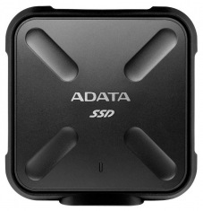 Накопитель SSD 256GB A-DATA SD700 Black USB 3.1 (ASD700-256GU3-CBK)