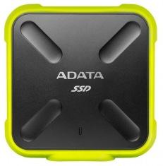 Накопитель SSD 512GB A-DATA SD700 Yellow USB 3.1 (ASD700-512GU3-CYL)