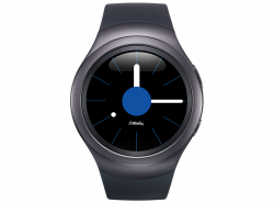 Умные часы Samsung SM-R720 Gear S2 (Dark Grey)