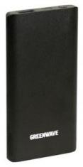 Универсальная мобильная батарея GreenWave PB-US-4000 Black