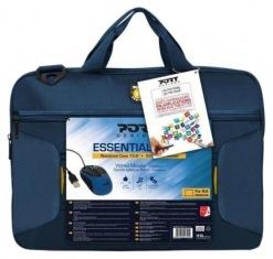 """Сумка для ноутбука 15.6"""" Port Designs Bag Essential Pack Blue + мышь (501720)"""