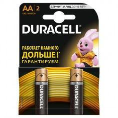 Батарейки DURACELL LR06 2 шт.