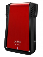 "Карман для HDD/SSD 2.5"" A-DATA EX500 Red USB 3.1"