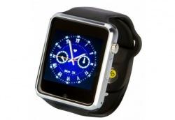 Часы ATRIX Smartwatch E07 Steel/Black