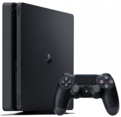 Консоль Sony PS4 Slim 500Gb+DC+HZD+RC+PS Black