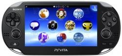 Игровая приставка SONY PS Vita Black WiFi (4 Гб + A)