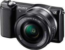 Фотоаппарат цифровой Sony Alpha A5000 kit (16-50mm) Black